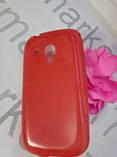 Case  for Samsung S7562/S7560, силикон, красный, фото 3