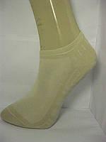 Носки мужские короткие сеточка  Р27 бежевые