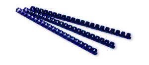 Пружина пластиковая 19мм син