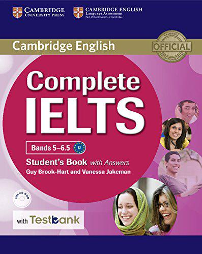 Complete IELTS Bands 5-6.5 Student's Book with answers and CD-ROM and Testbank
