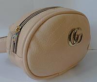 Женская сумка на пояс Gucci Женский клатч на пояс