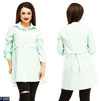 Женская рубашка блузка нарядная 50 52 54 56 размер новинка оптом розница Женская одежда недорого