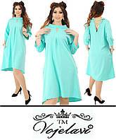 Нарядное платье с колечком сзади (P114)