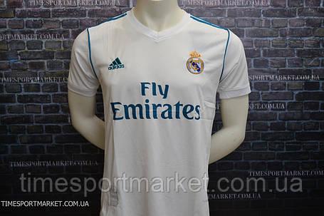 Футбольная форма Реал Мадрид 2017-2018 (домашняя) -оригинальное качество, фото 2
