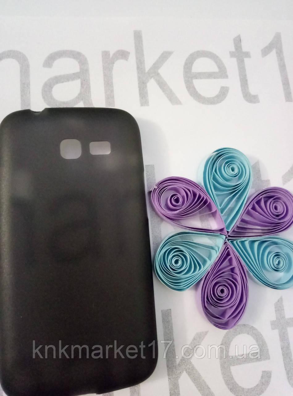 Case  for Samsung S7262,  пластик, черный,