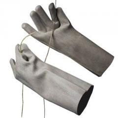 перчатки шовные