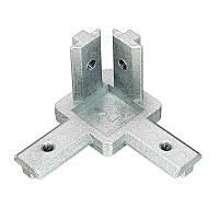 Suleve ™ CJ40 T Slot 3 Way 90 Degree Inside Corner Коннектор Шарнир для алюминиевого профиля 4040
