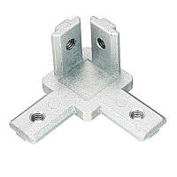Suleve ™ CJ30 T Slot 3 Way 90 Degree Inside Corner Коннектор Шарнир для алюминиевого профиля 3030