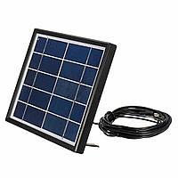 5V 3W 0.6A Rechargable Солнечная Панель с 5-метровым кабелем для На открытом воздухе Emergency