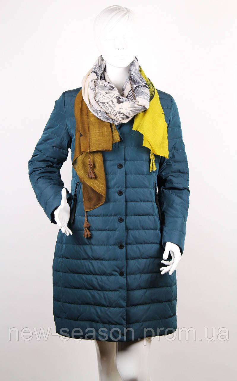 Демисезонное пальто MEAJIATEER M18-49 изумруд