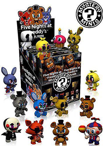 Игрушки 5 ночей с Фредди Five Nights at Freddy's Mystery Minis Series 1 Set