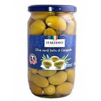 Italiamo Olive verdi Bella (Оливки гигантские) 700 г