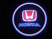 ЛАЗЕРНЫЙ ПРОЕКТОР ЛОГОТИПА В ДВЕРИ Honda