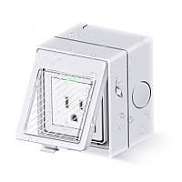 EJLink WP-1 EU/UK/US/AU/Universal 10A 2500W IP55 Водонепроницаемы WIFI Wireless Smart Дистанционное Управление Разъем Штепсель для Smart Home Work с