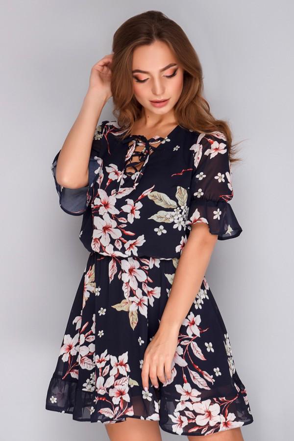 4e33afc2cb2 Женское летнее шифоновое платье - интернет магазин (Николь Шоппинг) в  Харькове
