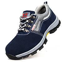 НаоткрытомвоздухеМужскаязащитнаяобувь Летняя дышащая стальная носка Ботинки Пешеходный альпинизм
