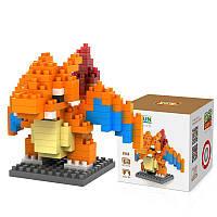 LOZ Little Dinosaur Monster Building Block Set 210 штук Collection Игрушечный образовательный подарок Fidget