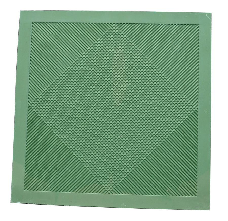 Ковер диэлектрический 500*500*4,5 мм [исп.на 20 кВ] резиновый