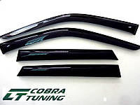Дефлекторы окон (ветровики) Citroen Berlingo 2 (3d)(2009-), Cobra Tuning