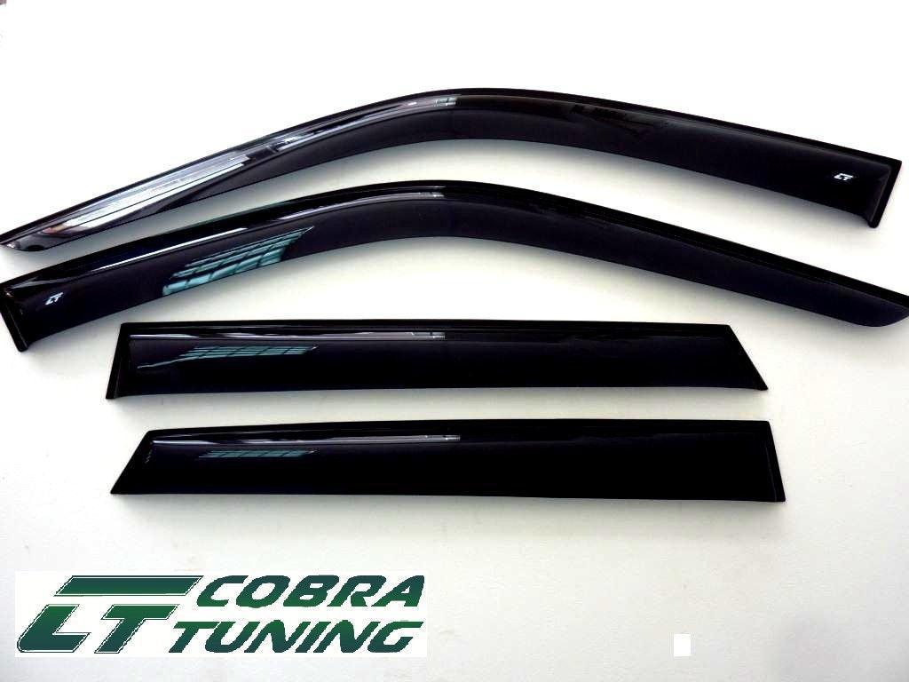 дефлекторы окон (ветровики) для fiat linea 2007