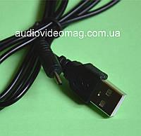 Кабель USB А на штекер питания 2.0-0.5 мм (для телефонов Nokia и др.)