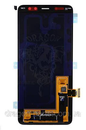 Дисплей Samsung A530 Galaxy A8 с сенсором Черный Black оригинал , GH97-21406A, фото 2
