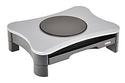 DesQ 1531 - подставка под монитор с ящиком и вращающимся диском