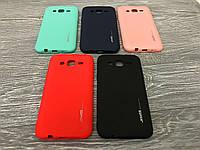 TPU чехол Smitt накладка бампер для Samsung Galaxy J7 J700h (5 цветов)