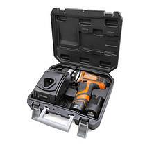 Шуруповерт аккумуляторный, Li-Ion, 12В, 2 скорости, 0-400/0-1200 об/мин, 2 аккумулятора, 1 час зарядка, 14.0 n.m, тормоз выбега. WT-0322 Intertool, фото 2