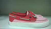 Мокасины женские розовые Sperry-top sider