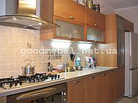 Кухня с фасадами из МДФ профиля