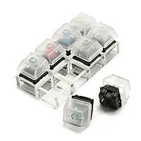 8 Key Механический Клавиатуры Тестер коммутаторов Набор Клавиатурные ключи Выключатели Sampler For Cherry MX
