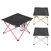 НаоткрытомвоздухеЛегкийалюминиевыйскладной стол портативный Кемпинг Гибкий стол