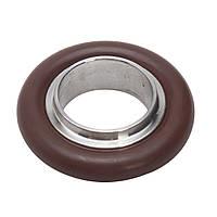 10 штук KF16 304 Центрирование фланца из нержавеющей стали Зажим Кольцо с вакуумным фитингом Viton O