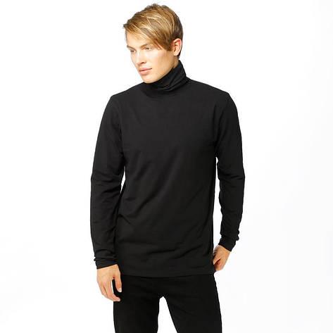 Мужская черная водолазка от Solid Doyle Black размер L, фото 2
