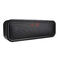 Универсальный портативный беспроводной Dual Drivers Stereo 3.5mm Aux TF Card Bluetooth Динамик с Микрофон