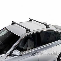 Багажник на интегрированные рейлинги крыши Mercedes C-Class 2015- универсал, фото 3