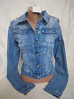 Джинсовая куртка M.Sara 1033