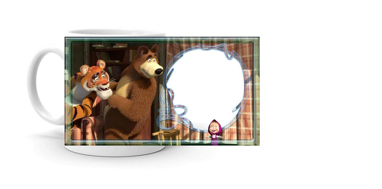 """Кружка """"Маша і ведмідь 4"""""""