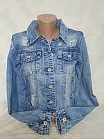 Джинсовая куртка MissFree 6301