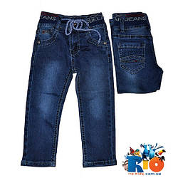 Детские джинсы на резинке со шнурком, для детей 1-5 лет, 5 ед в уп