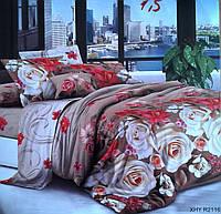 Семейный комплект постельного белья 3д