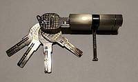PALADII SP цилиндр 90мм (45*45) SN сатен 5 лазерных ключей
