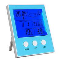 CH-904 Цифровой Термометр Гигрометр Тестер влажности температуры LED Подсветка Время Дата Календарь Будильник Часы Дисплей Крытый