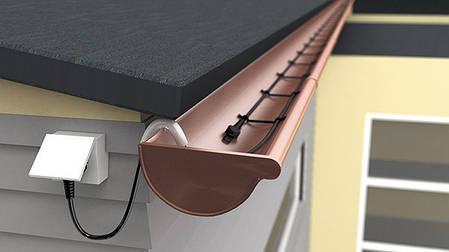 Двухжильный нагревательный кабель Hemstedt DAS 1650 Вт – 55 м (30 Вт/м) со встроенным термостатом  , фото 2