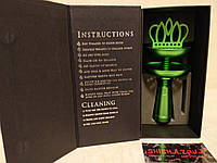 Чаша для кальяна Минзари (Minzari hookah crown) зеленая