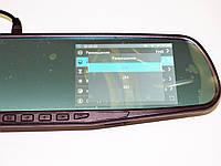 Автомобильный регистратор-зеркало DVR 138 Full HD + камера заднего вида, фото 4