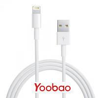 Кабель USB - Lightning для iPhone и iPad - Yoobao Lightning Round YB-403 (YB403), оригинал