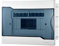 """Щиток накладной """"AKIN"""" Lezard 8 модулей пластик, фото 1"""