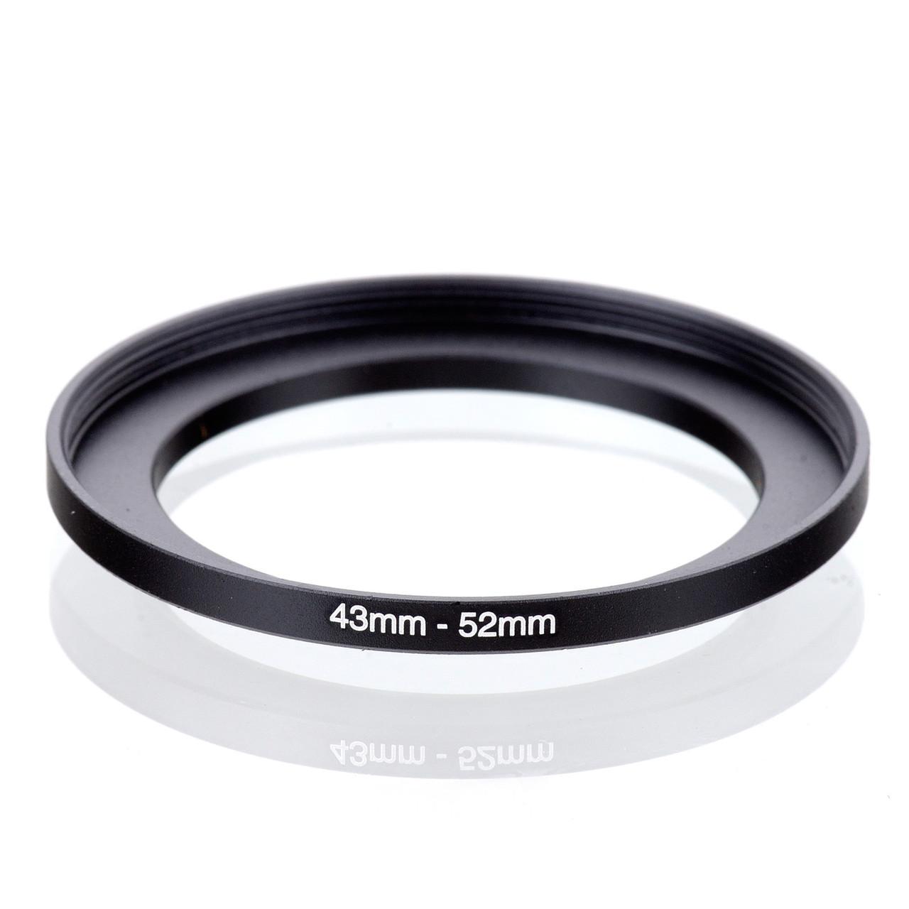 Переходное повышающее кольцо Step-Up (43-52 mm)
